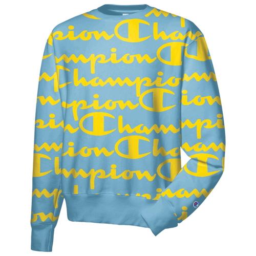 【海外限定 メンズ】チャンピオン champion リベンジ men's ファッション メンズ reverse weave men's aop crew mens トップス パーカー ファッション, 富士川町:fe07ae2f --- officewill.xsrv.jp