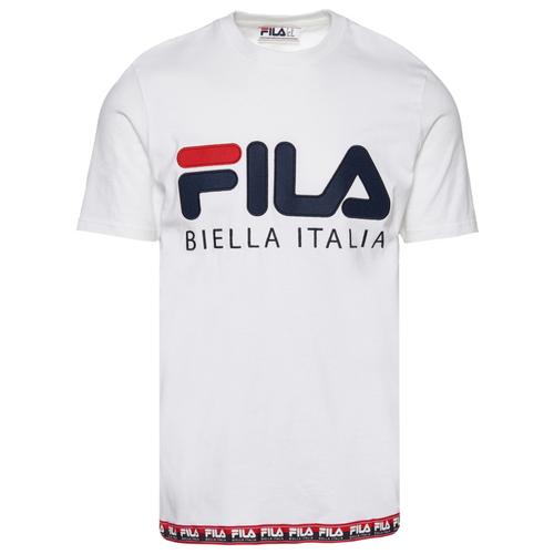 フィラ FILA シャツ MENS メンズ BIELLA ITALIA T トップス ファッション カットソー Tシャツ 送料無料