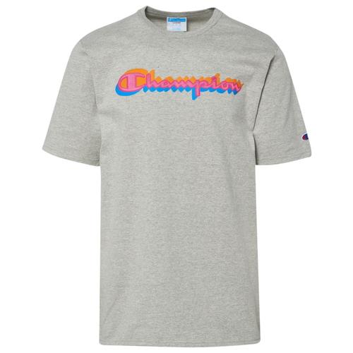 チャンピオン CHAMPION スクリプト シャツ MENS メンズ SCRIPT OVERLAY T Tシャツ ファッション トップス カットソー