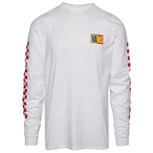 バンズ VANS L S 長袖 ロングスリーブ シャツ MENS メンズ BLOCK OFF THE WALL RALLY LS T Tシャツ ファッション トップス カットソー