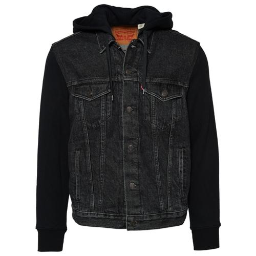 リーバイス LEVIS ハイブリッド フーディー パーカー MENS メンズ HYBRID HOODIE コート ジャケット ファッション