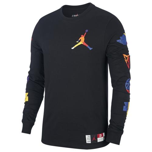 【NeaYearSALE1/1-1/5】ナイキ ジョーダン JORDAN スリーブ シャツ MENS メンズ SPORT DNA HBR LONG SLEEVE CREW T Tシャツ ファッション カットソー トップス 送料無料