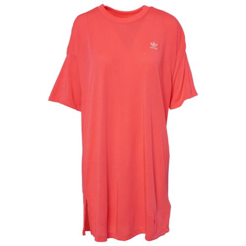 アディダス アディダスオリジナルス ADIDAS ORIGINALS オリジナルス トレフォイル シャツ ドレス WOMENS レディース ADICOLOR TREFOIL TEE T DRESS レディースファッション