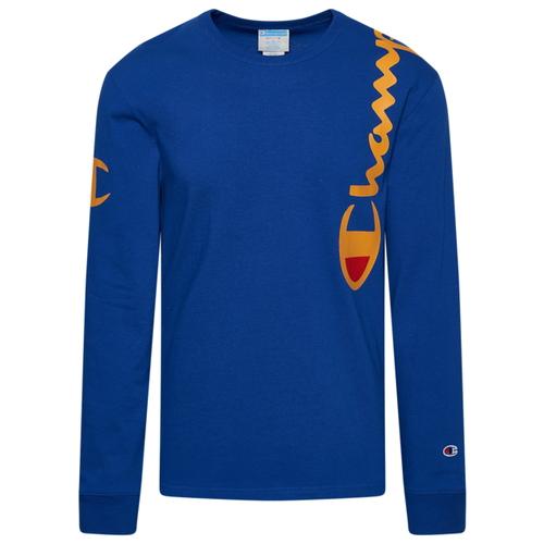 チャンピオン CHAMPION スクリプト L S 長袖 ロングスリーブ MENS メンズ HERITAGE OVER SHOULDER SCRIPT LS Tシャツ トップス ファッション カットソー