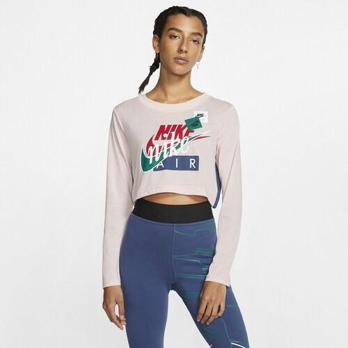 ナイキ NIKE スリーブ クロップ シャツ WOMENS レディース AF1 LONG SLEEVE CROP T レディースファッション トップス Tシャツ カットソー