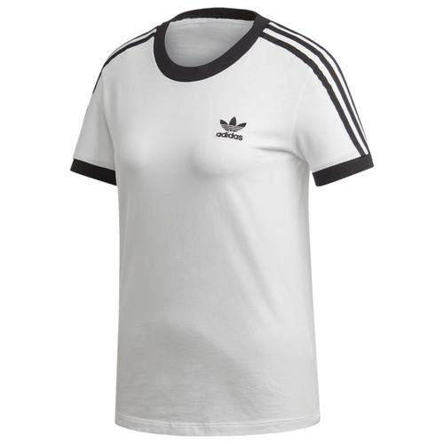 アディダス アディダスオリジナルス ADIDAS ORIGINALS オリジナルス ストライプ シャツ WOMENS レディース ADICOLOR 3 STRIPE T カットソー レディースファッション トップス Tシャツ
