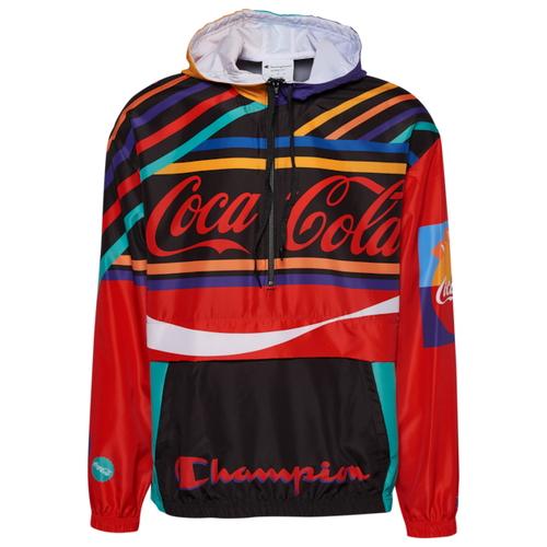 チャンピオン CHAMPION スクリプト ジャケット MENS メンズ COCACOLA SCRIPT ANORAK JACKET コート ファッション