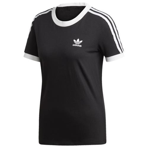 アディダス アディダスオリジナルス ADIDAS ORIGINALS オリジナルス ストライプ シャツ WOMENS レディース ADICOLOR 3 STRIPE T トップス Tシャツ カットソー レディースファッション 送料無料