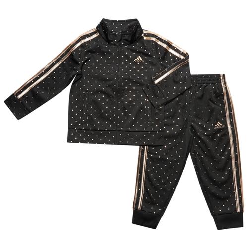 アディダス ADIDAS ジャケット TD(TODDLER) ベビー 赤ちゃん 幼児 赤ちゃん用 DOT TRICOT JACKET SET TDTODDLER セットアップ マタニティ 服 ファッション 上下セット