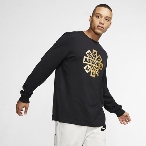 ナイキ NIKE スリーブ シャツ MENS メンズ METALLIC LONG SLEEVE T カットソー トップス ファッション Tシャツ