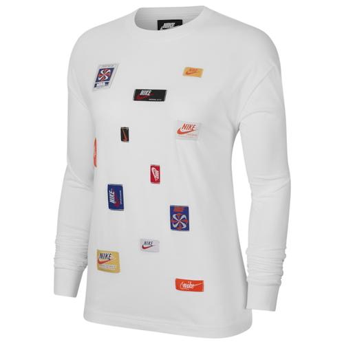 ナイキ NIKE スリーブ シャツ WOMENS レディース JDIY LONG SLEEVE T Tシャツ トップス レディースファッション カットソー