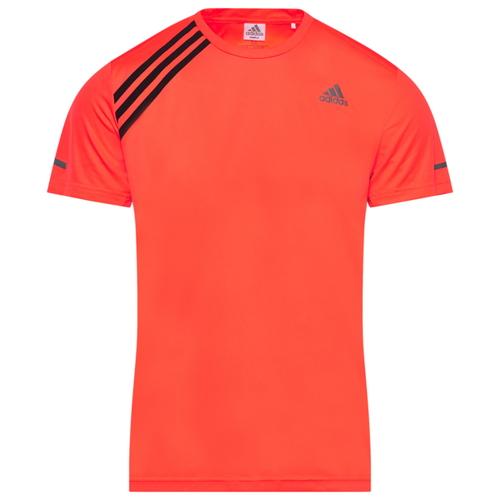 アディダス ADIDAS ラン ストライプ シャツ MENS メンズ RUN IT 3 STRIPE T スポーツ ジョギング アウトドア マラソン
