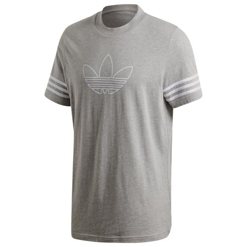 アディダス アディダスオリジナルス ADIDAS ORIGINALS オリジナルス トレフォイル S 半袖 シャツ MENS メンズ OUTLINE TREFOIL SS T ファッション Tシャツ カットソー トップス