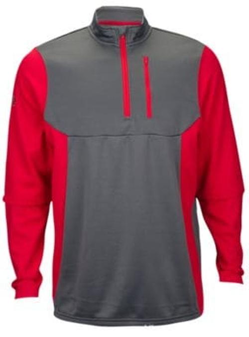 【海外限定】ローリングス 1 4 テック フリース メンズ rawlings 14 zip tech fleece pullover アクセサリー