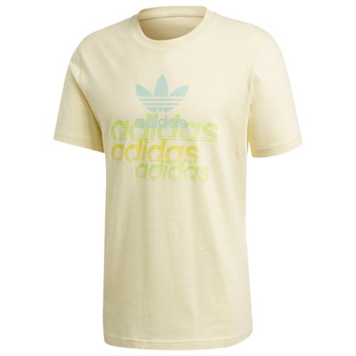 アディダス アディダスオリジナルス ADIDAS ORIGINALS オリジナルス トレフォイル ロゴ シャツ MENS メンズ SHATTERED TREFOIL LOGO T カットソー ファッション トップス Tシャツ