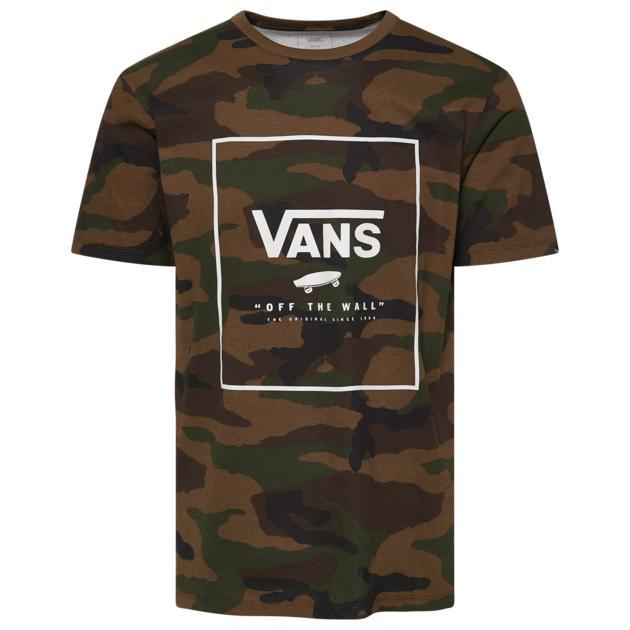 バンズ VANS ボックス スリーブ シャツ MENS メンズ PRINT BOX SHORT SLEEVE T Tシャツ トップス ファッション カットソー