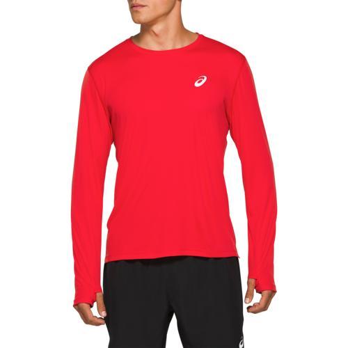 アシックス ASICS 銀色 シルバー スリーブ MENS メンズ SILVER LONG SLEEVE TOP ジョギング アウトドア スポーツ マラソン