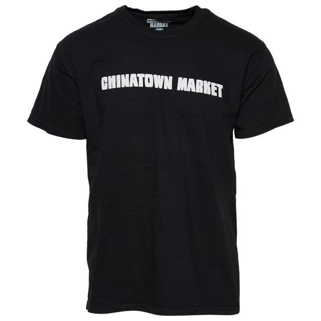 ロゴ シャツ MENS メンズ CHINATOWN MARKET BACK LOGO T カットソー Tシャツ ファッション トップス