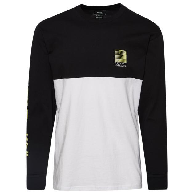 バンズ VANS レトロ L S 長袖 ロングスリーブ シャツ MENS メンズ RETRO SPORT COLORBLOCK LS T ファッション カットソー トップス Tシャツ :スニケス