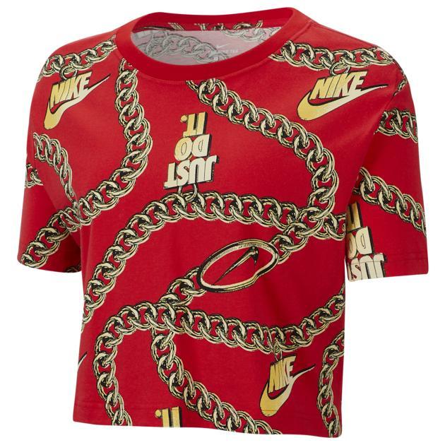 ナイキ NIKE クロップ シャツ WOMENS レディース CROP AOP T Tシャツ トップス カットソー レディースファッション