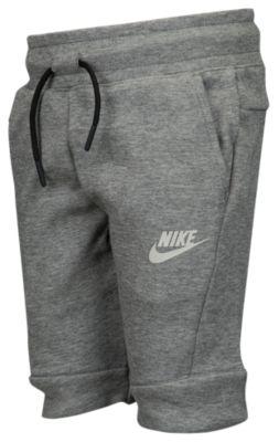 【海外限定】nike ナイキ nsw tech テック fleece フリース shorts ショーツ ハーフパンツ ps(preschool) キッズ 小学生 男の子 女の子 子供用