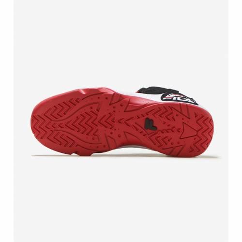 フィラ FILA フィラ 黒 ブラック 白 ホワイト 赤 レッド スニーカーBLACK WHITE RED FILA GR5L3jR4A