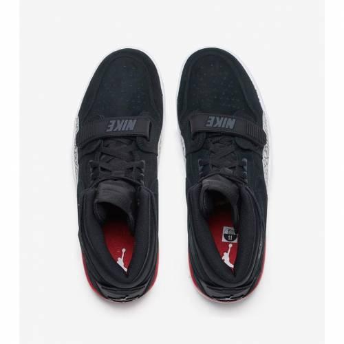 ナイキ ジョーダン JORDAN レガシー スニーカー メンズ 【 Legacy 312 】 Black/black-varsity Red