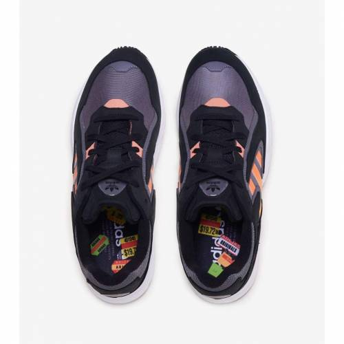 アディダス ADIDAS スニーカー 【 YUNG 96 CHASM CORE BLACK SEMI CORAL SOLAR RED 】 メンズ 送料無料