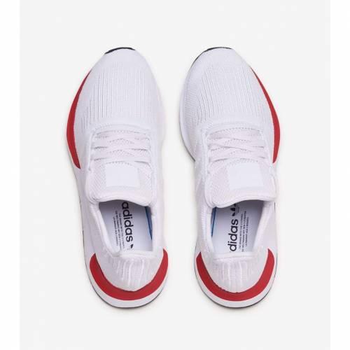 アディダス ADIDAS スウィフト ラン スニーカー メンズ 【 Swift Run 】 White/white/red