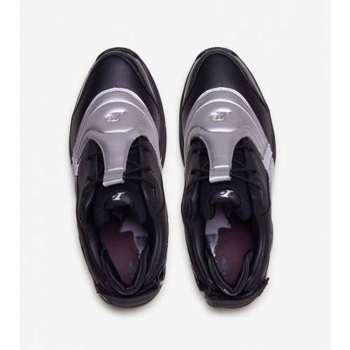 リーボック REEBOK リーボック 黒 ブラック 銀色 シルバー スニーカー 【 REEBOK BLACK SILVER ANSWER V 】 メンズ スニーカー