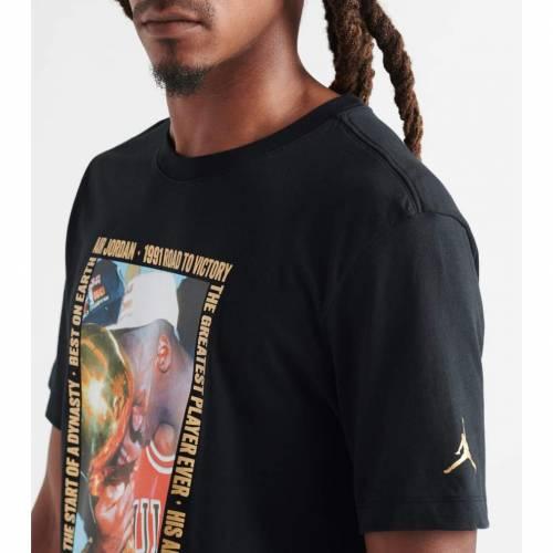 ナイキ ジョーダン JORDAN 【 REMASTERED HBR SS CREW TEE BLACK 】 メンズファッション トップス Tシャツ カットソー 送料無料