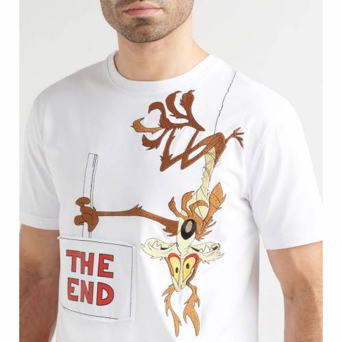 FREEZE 【 THE END TEE WHITE 】 メンズファッション トップス Tシャツ カットソー 送料無料