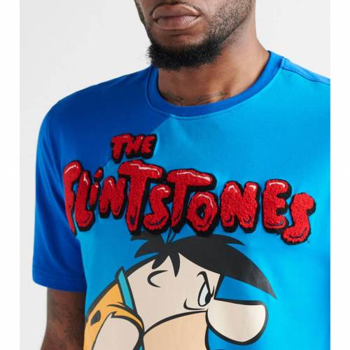 FREEZE FLINTSTONEWHAT'S 【 FRED BEEF TEE BLUE 】 メンズファッション トップス Tシャツ カットソー 送料無料