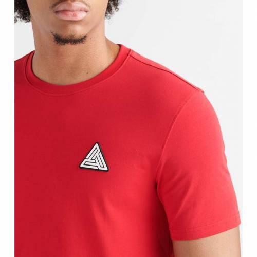 BLACK PYRAMID ロゴ 【 BP CLEAN LOGO SS TEE RED 】 メンズファッション トップス Tシャツ カットソー 送料無料