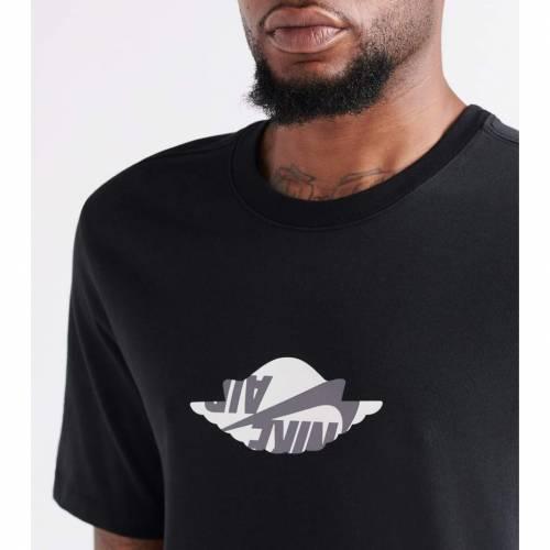 ナイキ ジョーダン JORDAN クラシック 【 WINGS CLASSIC SS CREW TEE BLACK 】 メンズファッション トップス Tシャツ カットソー 送料無料