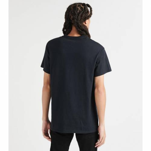 BY KIY ローズ 【 ROSE ROCK HARD SKULL N TEE BLACK 】 メンズファッション トップス Tシャツ カットソー 送料無料