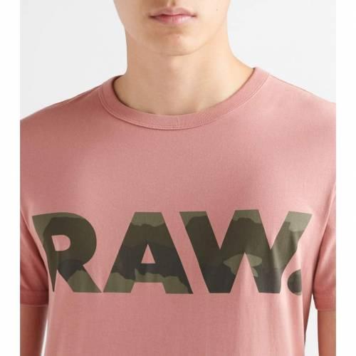 G-STAR グラフィック 【 GRAPHIC 6 R SS TEE DK TEA ROSE 】 メンズファッション トップス Tシャツ カットソー 送料無料