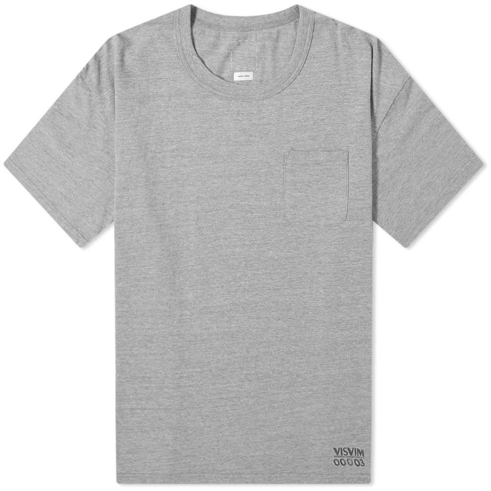 VISVIM ジャンボ 【 JUMBO TEE GREY 】 メンズファッション トップス Tシャツ カットソー 送料無料