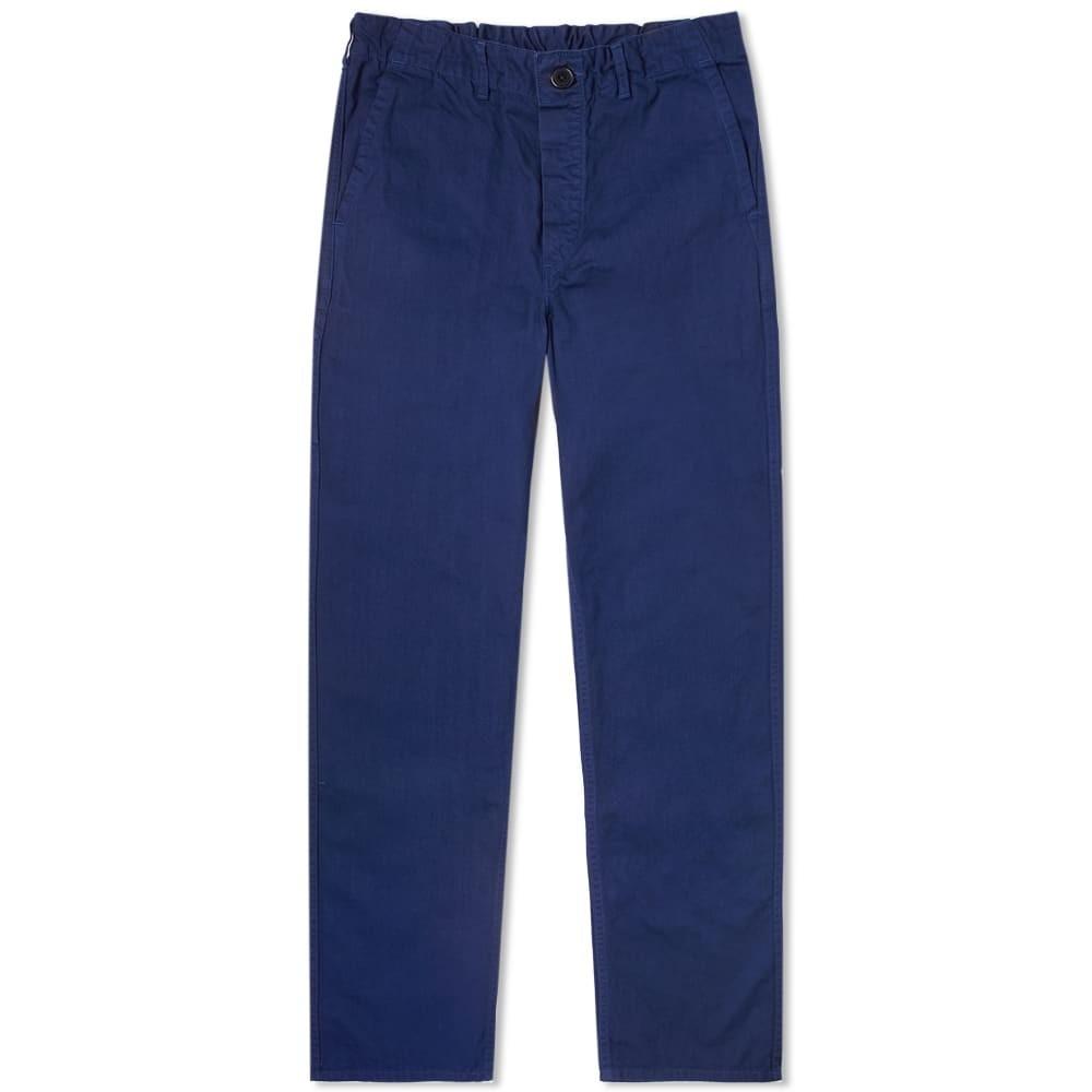 ORSLOW 【 FRENCH WORK PANT BLUE 】 メンズファッション ズボン パンツ 送料無料