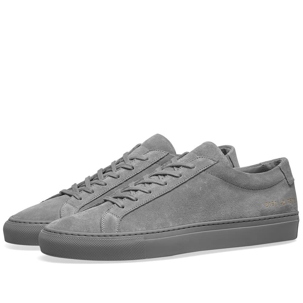COMMON PROJECTS スエード スウェード スニーカー メンズ 【 Original Achilles Low Suede 】 Cobalt Grey