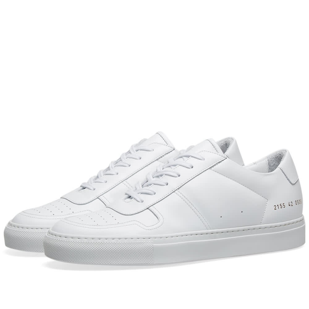 COMMON PROJECTS レザー スニーカー メンズ 【 B-ball Low Leather 】 White