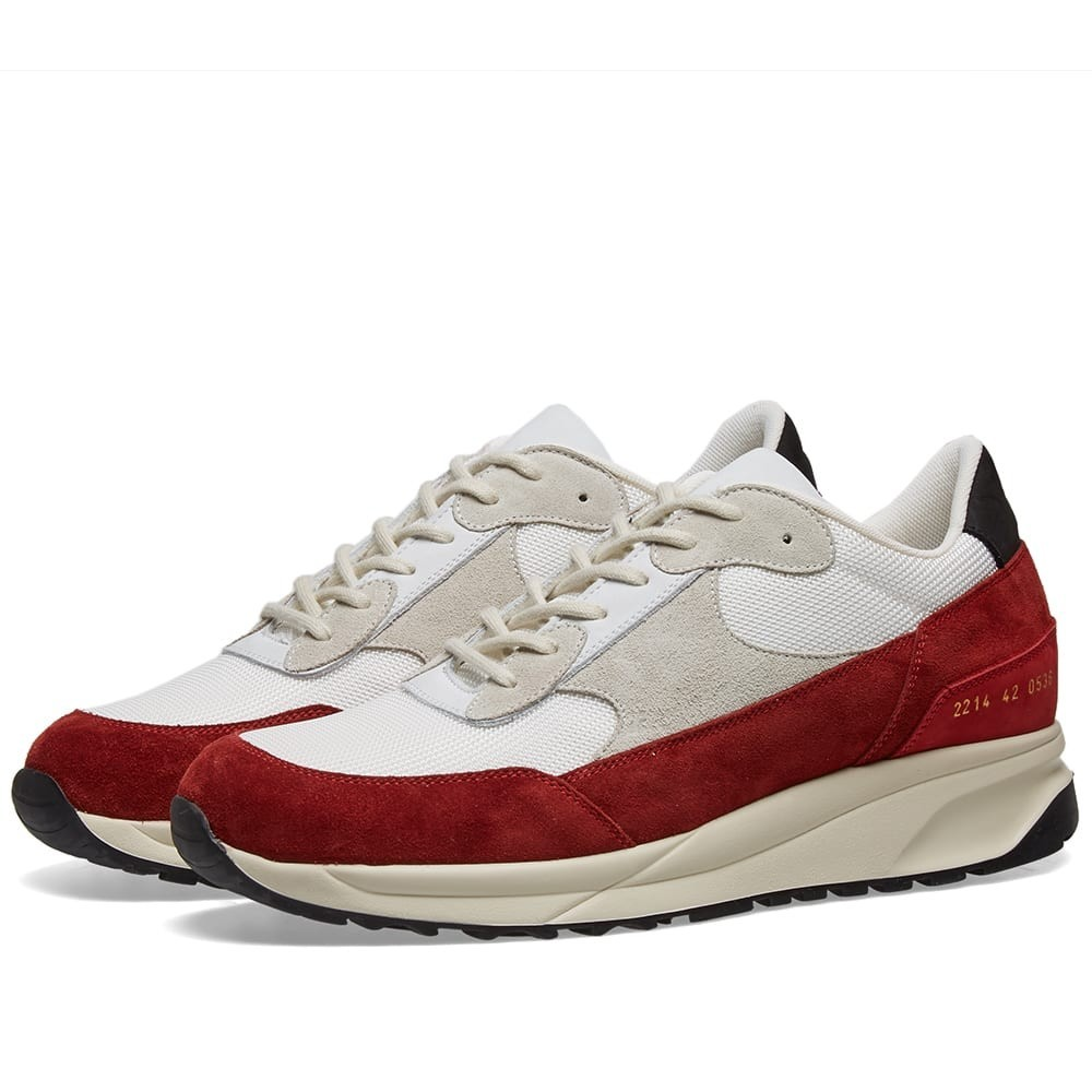 COMMON PROJECTS トラック クラシック スニーカー メンズ 【 Track Classic 】 White & Red