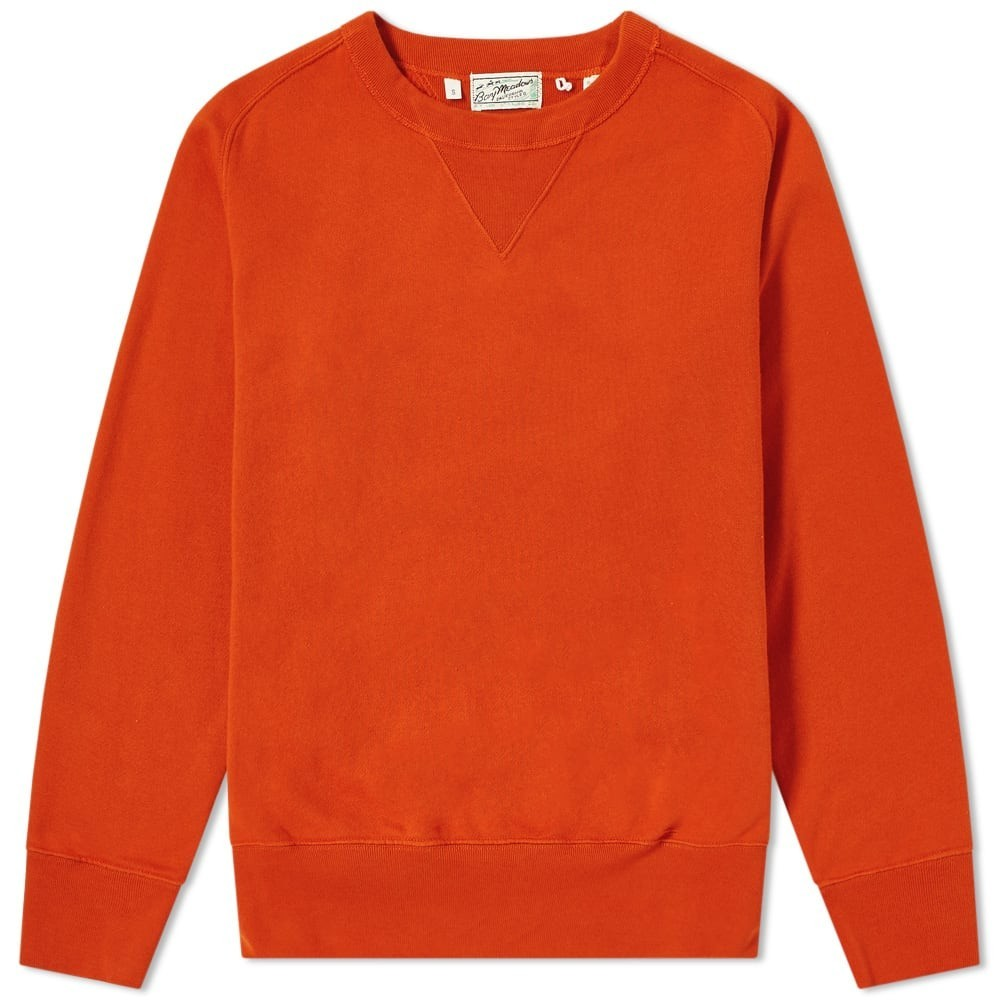 LEVIS VINTAGE CLOTHING ビンテージ ヴィンテージ スウェット メンズファッション トップス トレーナー メンズ 【 Levis Vintage Clothing Bay Meadows Crew Sweat 】 Red