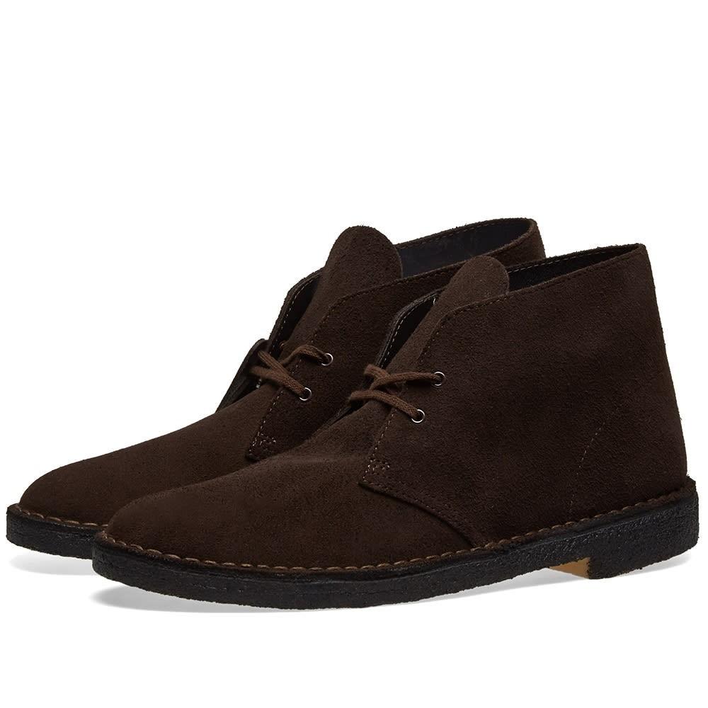 クラークスオリジナルズ CLARKS ORIGINALS ブーツ メンズ 【 Desert Boot 】 Brown Suede