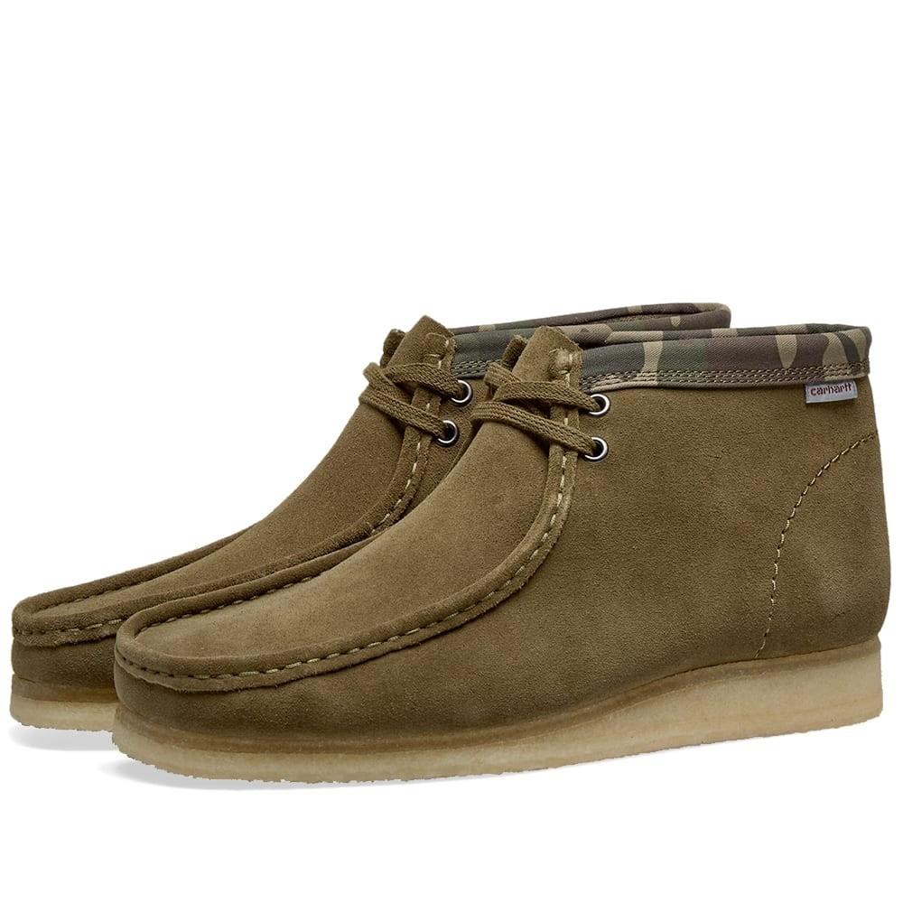 クラークスオリジナルズ CLARKS ORIGINALS ブーツ メンズ 【 X Carhartt Wallabee Boot 】 Olive Green