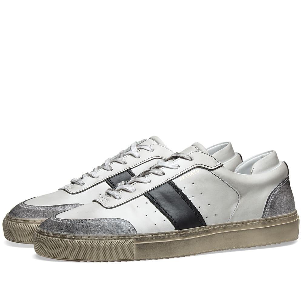 【スーパーセール中! 6/11深夜2時迄】AXEL ARIGATO ダンク スニーカー メンズ 【 Dunk Distressed Sneaker 】 White, Black & Beige