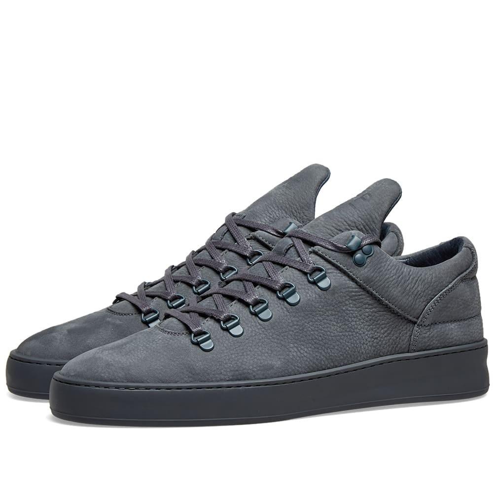 FILLING PIECES スニーカー メンズ 【 Mountain Cut Plain Cairos Sneaker 】 Dark Grey