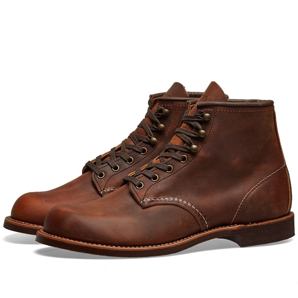 "【NeaYearSALE1/1-1/5】RED WING 赤 レッド 6"" & 【 3343 HERITAGE WORK BLACKSMITH BOOT COPPER ROUGH TOUGH 】 メンズ ブーツ 送料無料"