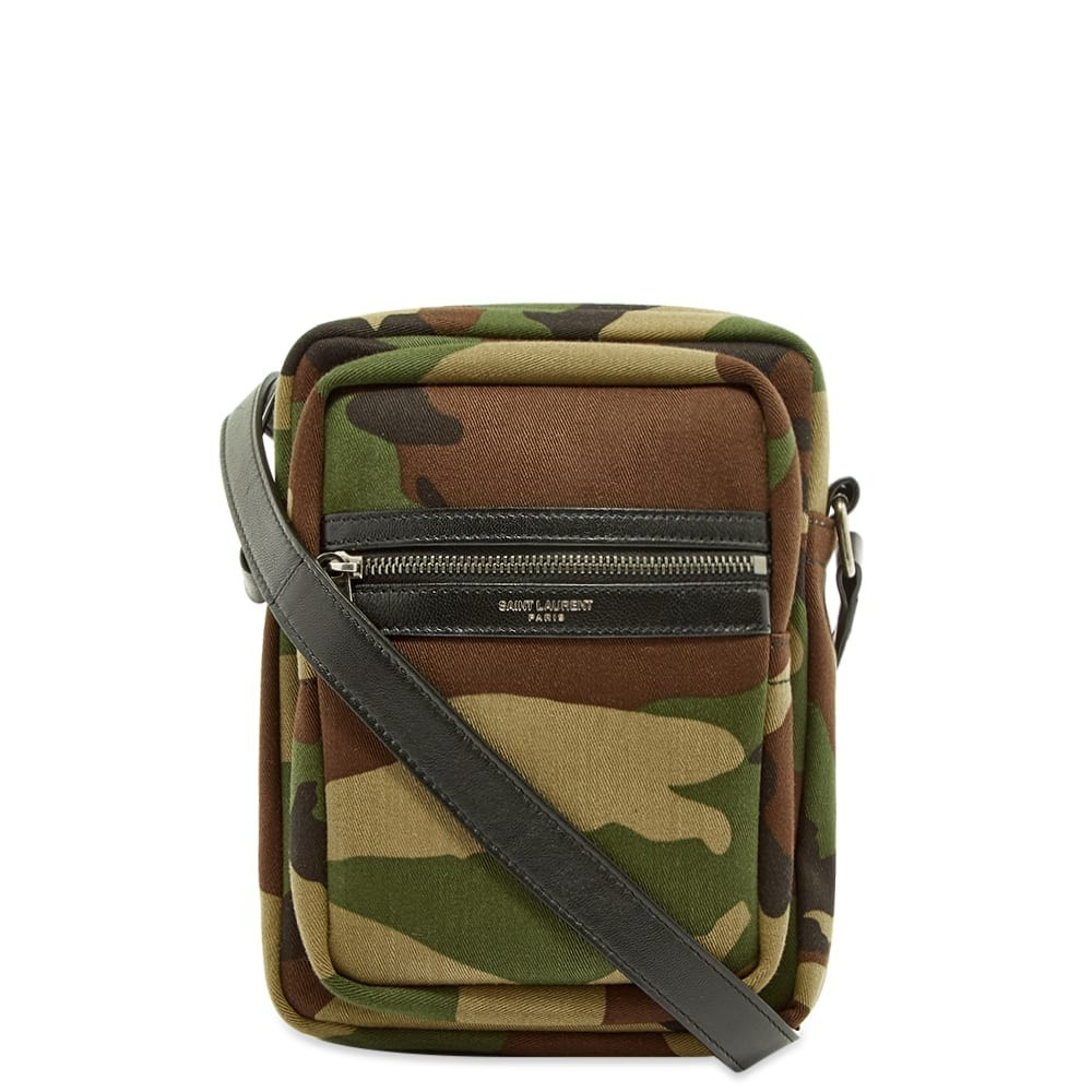 SAINT LAURENT バッグ 【 SAINT LAURENT SACOCHE SHOULDER BAG CAMO 】 バッグ