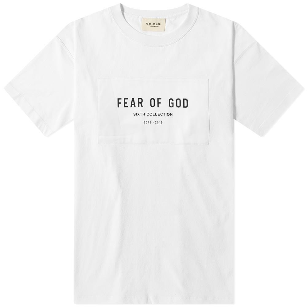 【スーパーセール商品 12/4-12/11】FEAR OF GOD コレクション 【 6TH COLLECTION TEE WHITE 】 メンズファッション トップス Tシャツ カットソー 送料無料